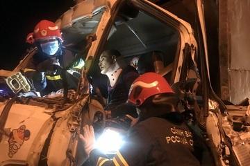 Vụ 3 người mắc kẹt trong cabin xe tải: Các nạn nhân đã dần hồi phục, không nguy hiểm tính mạng