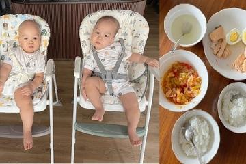 """Bà xã MC Thành Trung """"khoe"""" con trai 13 tháng tuổi đã biết ăn cơm như người lớn"""