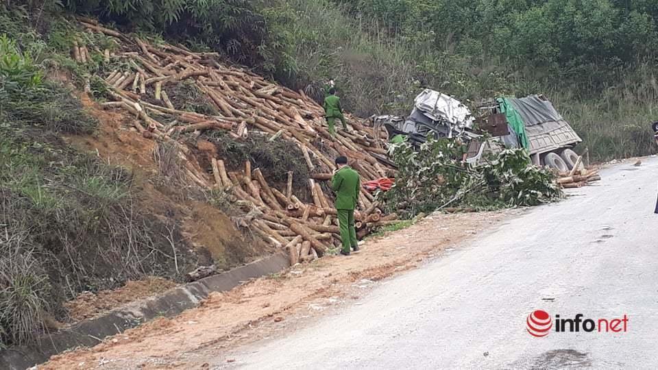 Cận cảnh hiện trường vụ tai nạn thảm khốc 7 người chết ở Thanh Hóa
