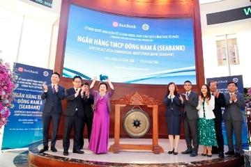 Hơn 1,2 tỷ cổ phiếu SeABank chính thức giao dịch trên sàn chứng khoán, vốn hóa vượt 1 tỷ USD sau phiên ATO
