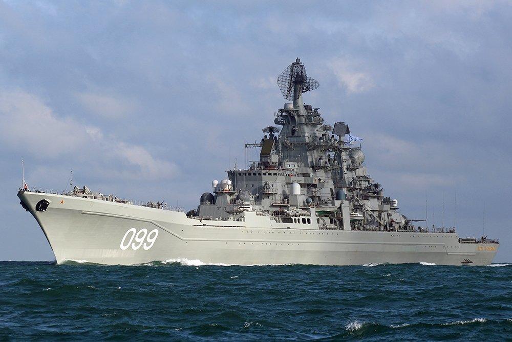 Top 5 tàu 'khủng' nhất của Hải quân Nga