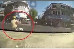 Dân mạng 'phát sốt' với clip CSGT dẫn đường cho tài xế chở sản phụ tới bệnh viện