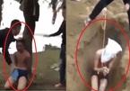 """Clip thanh niên bị tra tấn, đào hố """"chôn sống"""":  Nhóm người trong clip đến cầu Cửa Tiền 2 một lúc rồi rời đi"""