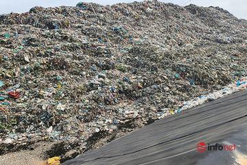 Huế: Núi rác 'khổng lồ' phơi lộ thiên xả thải ra môi trường, người dân chịu hôi thối đến bao giờ?