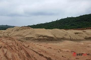 Quảng Trị: Bãi tập kết cát trái phép ngang nhiên tồn tại, nghi của Phó trưởng công an xã