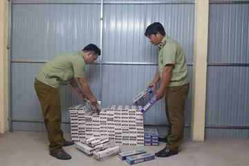 Tiền Giang: Tạm giữ gần 1.200 bao thuốc lá điếu nhập lậu