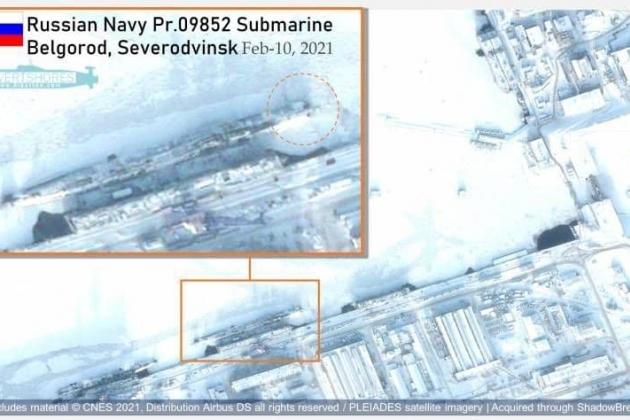Mỹ lần đầu phát hiện tàu ngầm của Nga mang 'ngư lôi ngày tận thế'