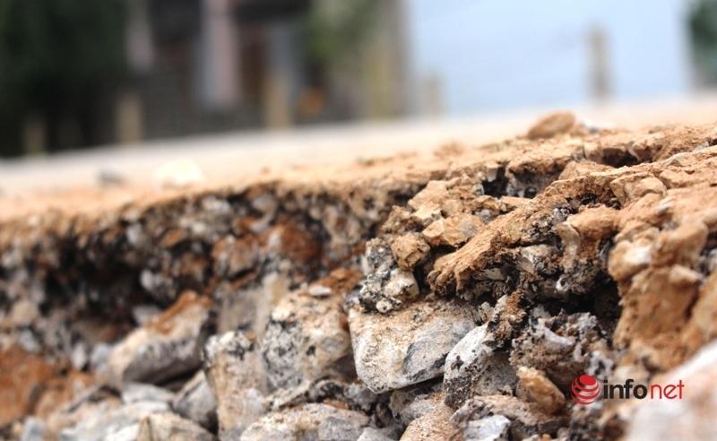 QL 48E sụt lún như ruộng cày, Sở GTVT Nghệ An 'bắt đền' thi công, đào lên làm lại