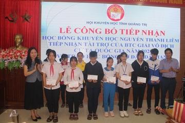 Quảng Trị: Một cá nhân trao 1 tỷ đồng làm học bổng tặng học sinh nghèo