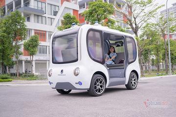 Xe điện tự hành của Việt Nam có gì đặc biệt?