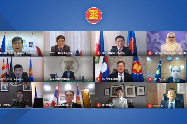 Việt Nam đồng chủ trì cuộc họp Ủy ban Hợp tác chung ASEAN - Nhật Bản