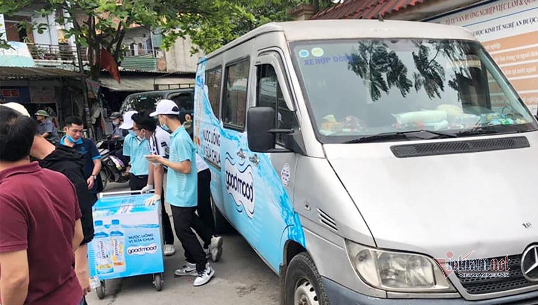 Kết quả kiểm nghiệm vụ 9 học sinh Nghệ An đau bụng sau uống nước ngọt miễn phí trước cổng trường