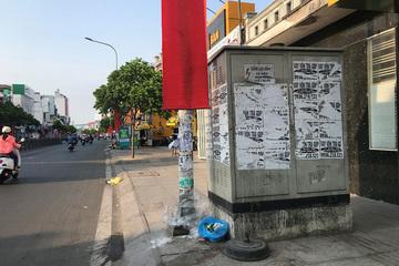 Treo quảng cáo ở cột điện có thể bị phạt đến 2 triệu đồng; bán vé tham gia lễ hội phạt 3 triệu đồng