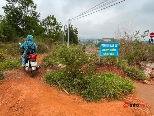 Đắk Nông: Đường trung tâm TP Gia Nghĩa sụt lún nghiêm trọng, tỉnh không cấp tiền sửa