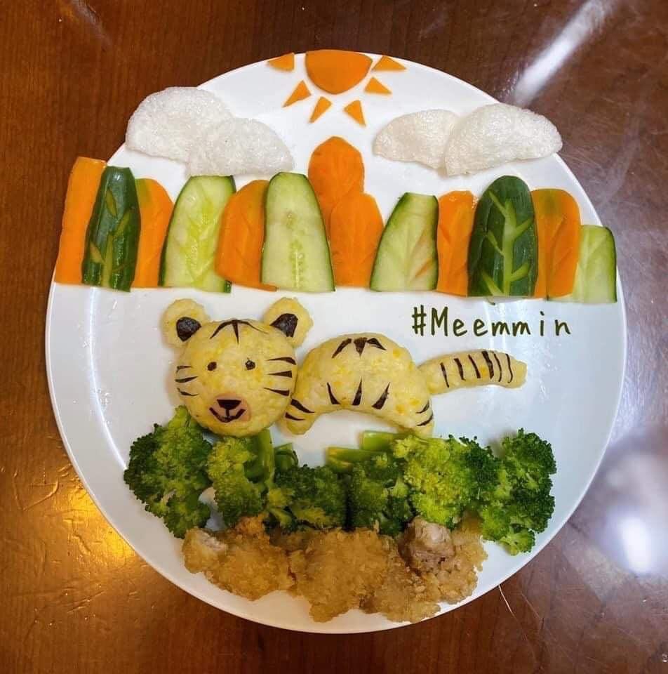 Những đĩa cơm đẹp mắt dụ con ăn thun thút của bà mẹ đảm đang