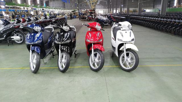 Xe điện hai bánh mang thương hiệu Made in Vietnam xuất đi châu Âu