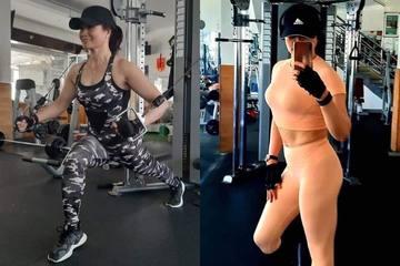 Quý bà U60 quyết tâm theo đuổi body 'chuẩn' khiến hội chị em phải tròn mắt