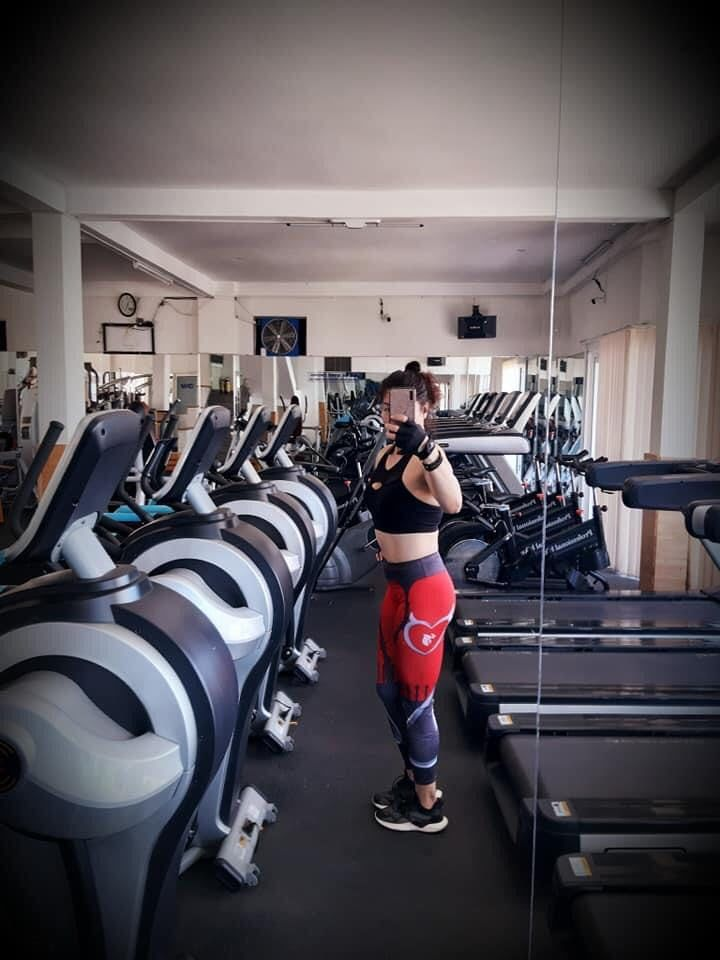 tập gym,vóc dáng,luyện tập,Bona Nguyễn