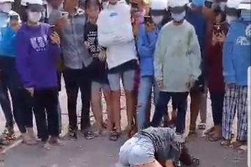 Sau khi đánh bạn, nữ sinh quyết định nghỉ học vì ngại đến trường