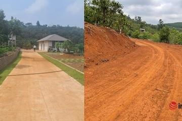 Đắk Nông kiểm tra nóng vụ mở đường, xây nhà vườn trái phép trên đất rừng bán ngập