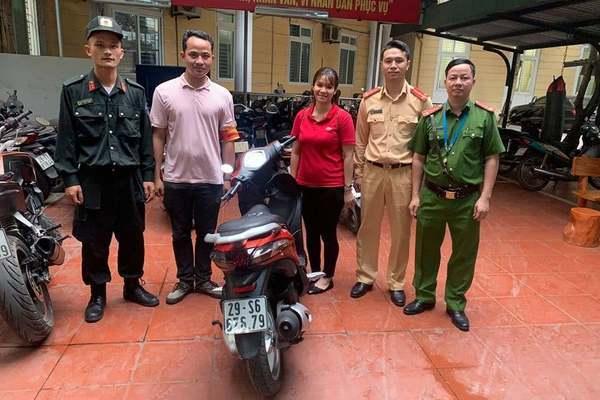 Cảnh sát 141 liên tiếp tìm được xe bị mất cắp trao trả cho người dân