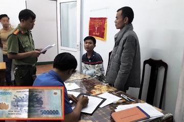 Vụ lưu hành tiền giả 500.000 đồng ở Quảng Nam: Các đối tượng khai gì?