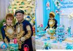 Cặp đôi 9X Bạc Liêu gâyngạc nhiênvới lễ ăn hỏi trọn bộ Doremon