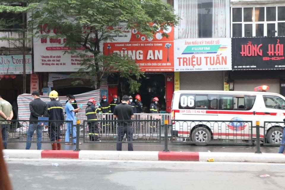 cháy lớn,đám cháy,thiệt mạng,Hà Nội,cứu hộ,thiêu rụi