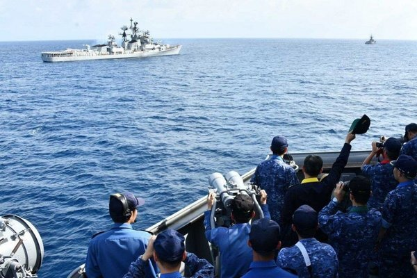Bộ Tứ Kim Cương tìm thêm đối tác đối phó Trung Quốc