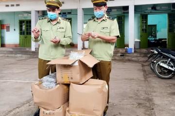 Lạng Sơn: Tạm giữ 4.000 sản phẩm thuốc lá điện tử không có nhãn hàng hóa, không có vỏ hộp