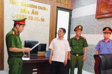 Quảng Nam: Khởi tố, bắt tạm giam một trưởng phòng công chứng