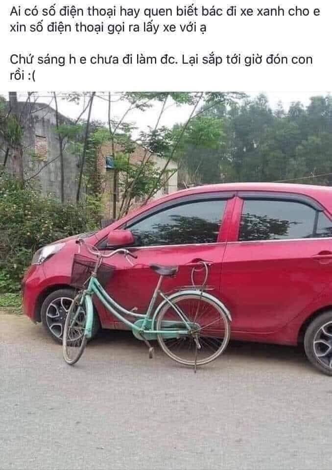 sơn xe,đỗ xe sai quy định