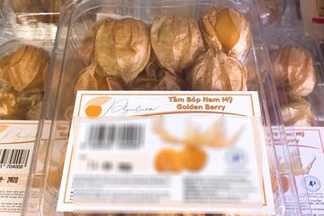 Tầm bóp ở quê chỉ là quả dại, lên kệ siêu thị bán giá 400.000 đồng/kg