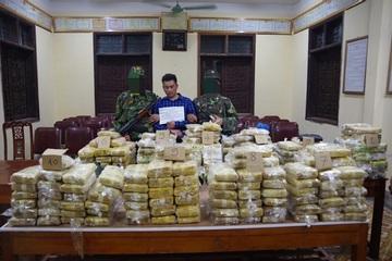"""Triệt phá đường dây ma túy xuyên quốc gia """"siêu khủng"""" thu giữ gần 350kg ma túy"""