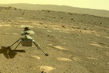 Lần đầu tiên trực thăng của NASA sống sót qua đêm đóng băng trên sao Hỏa