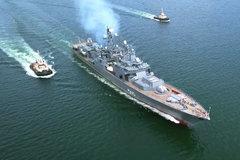 Mỹ hoảng hốt khi siêu tàu khu trục Nga 'biến hình' với tên lửa Kalibr