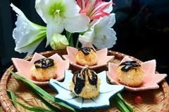 2 bước đơn giản làm món bánh dừa nướng thơm ngon