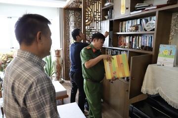 """Vụ xăng giả """"khủng"""": Bắt Tổng Giám đốc Công ty Phúc Lâm, khám xét 9 địa điểm"""