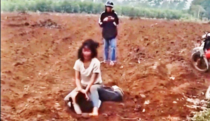 Học sinh THCS,nữ sinh đánh nhau,Nghệ An