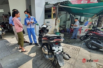 Huế: Khách tố cửa hàng 'phù phép' màu sơn xe để tăng giá bán?