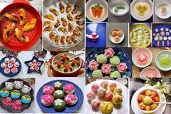 Bí quyết nặn bánh trôi, bánh chay hình các con vật, hoa lá dễ thương