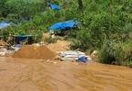 Quảng Nam: Truy quét, đẩy đuổi hơn 100 đối tượng khai thác vàng trái phép