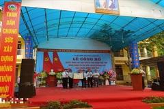 Cao Bằng: công nhận 2 xã đạt chuẩn nông thôn mới