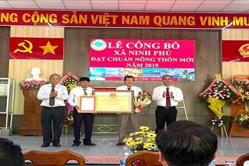 Công bố đạt chuẩn nông thôn mới năm 2020 cho xã Ninh Phú, Ninh Hòa