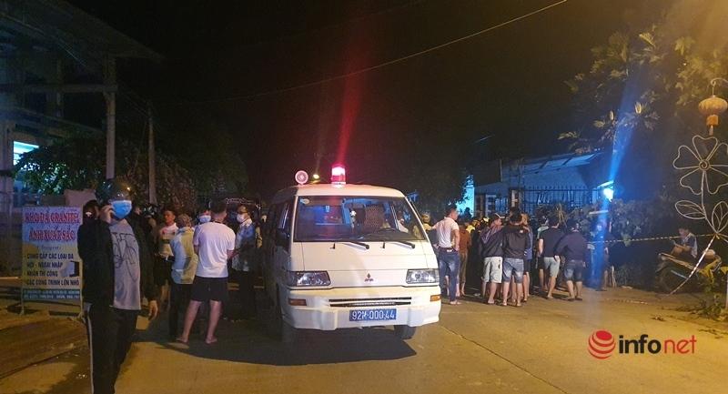 tai nạn,Quảng Nam,thương vong,ô tô 7 chỗ,tai nạn liên hoàn