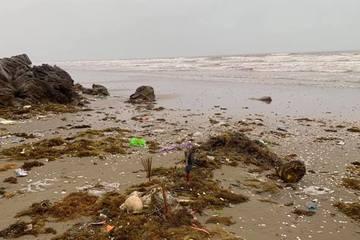 Ra bãi biển lúc 5h sáng, hoảng hồn phát hiện bộ xương người không nguyên vẹn