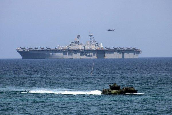 Cuộc tập trận 'khác lạ' của quân đội Mỹ - Philippines ở Biển Đông