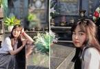 """Khánh Vân đăng ảnh chụp trước bia mộ gây tranh cãi, dân mạng nặng lời chỉ trích """"sống ảo"""""""