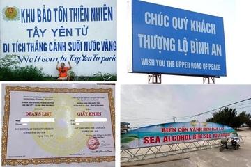 """Những """"tai nạn"""" ngớ ngẩn khi dịch ngôn ngữ Việt - Anh do lạm dụng Google"""