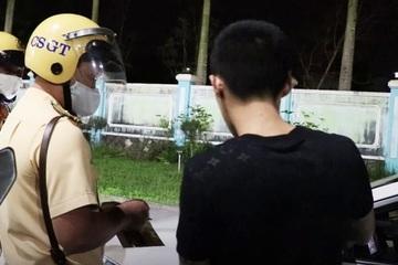 """Vi phạm nồng độ cồn và """"phê"""" ma túy, tài xế ở Quảng Nam bị phạt 52 triệu đồng"""